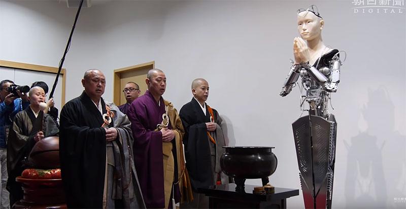 京都の高台寺にアンドロイド観音マインダー 開発費1億円